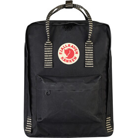 Fjällräven Kånken reppu, black/striped